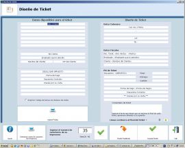 Ticket de ventas